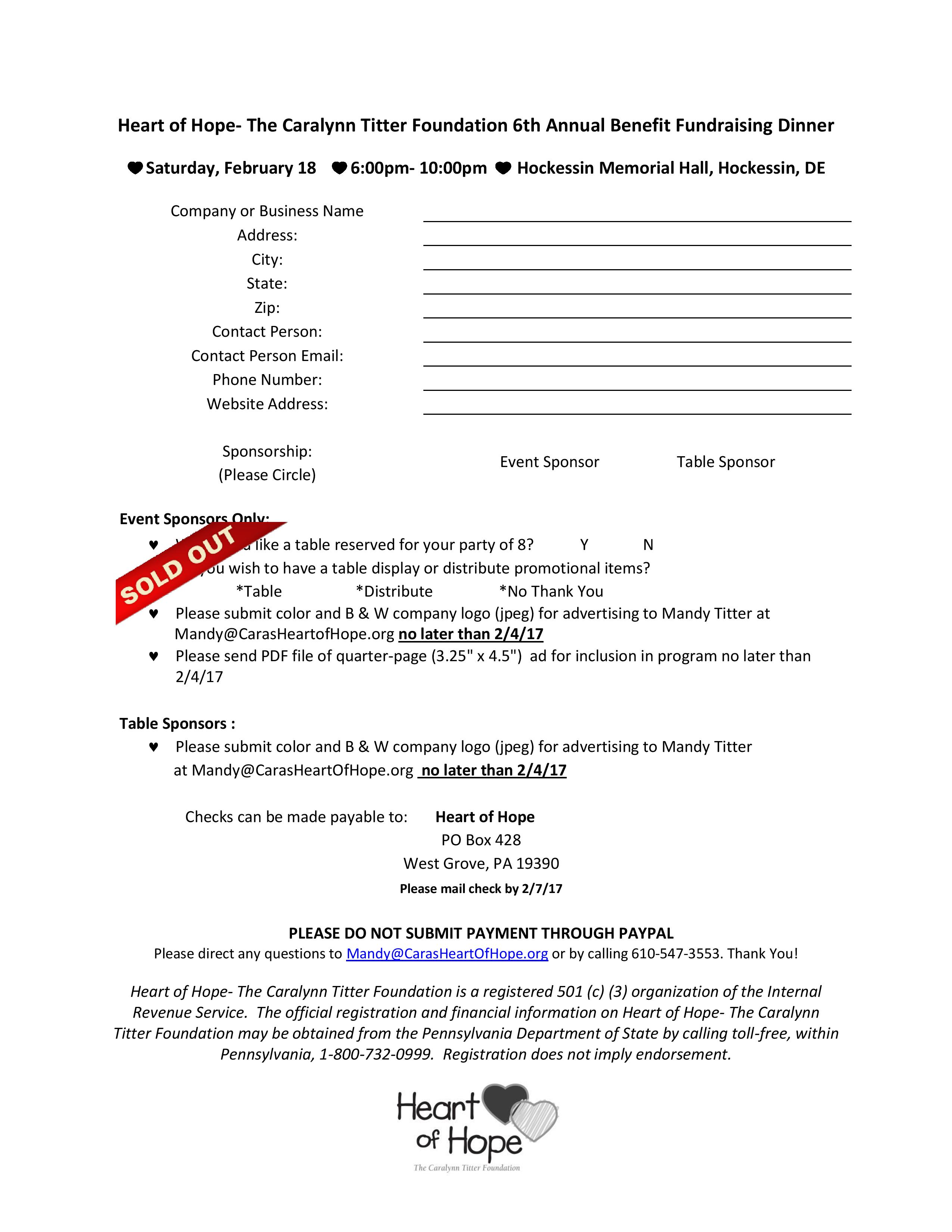 2017 Sold Out Benefit Sponsorship Letter- Email version-page