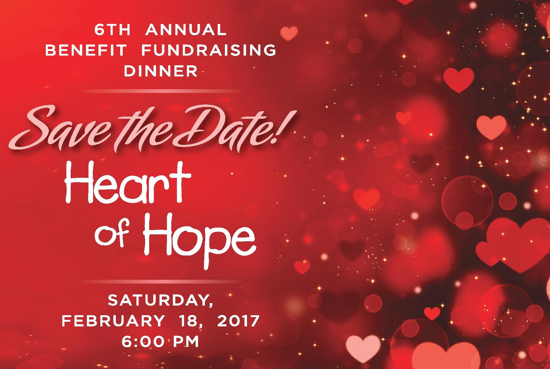 6th Annual Benefit Fundraising Dinner